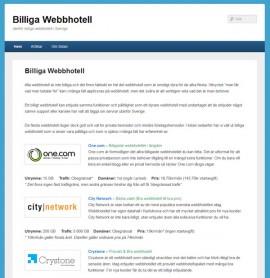 billiga webbhotell